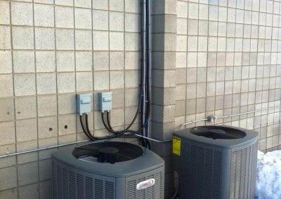 lennox air conditioners outside