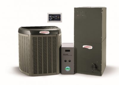 lennox heting and cooling systems with thermostat
