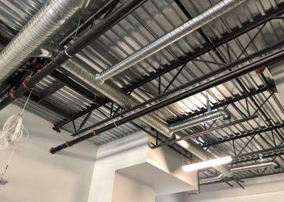 shop ventilation ductwork