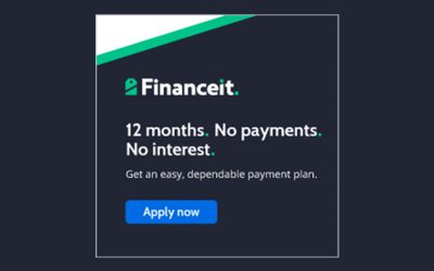 Get an easy, dependable payment plan.